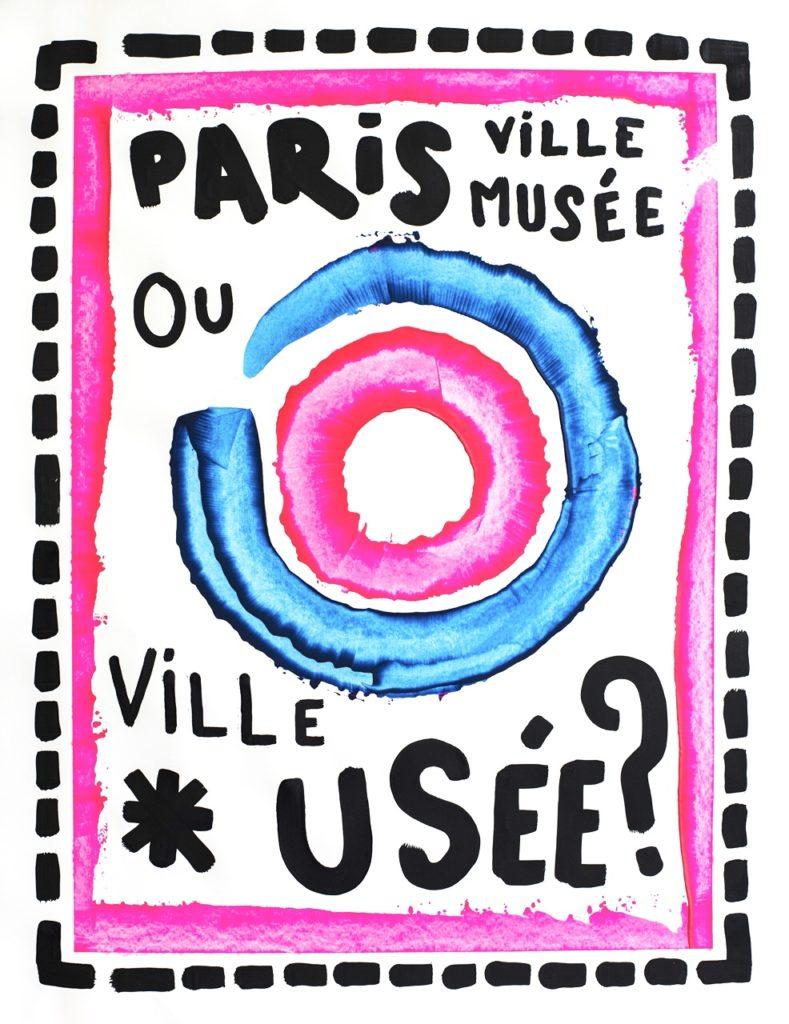 Créations Graphiques art artiste paris affiche musée ville