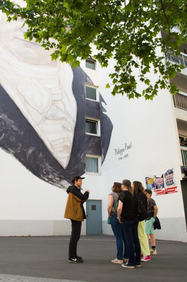 visite street art graffiti paris