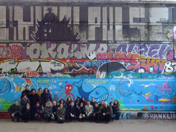 Team Building Street Art