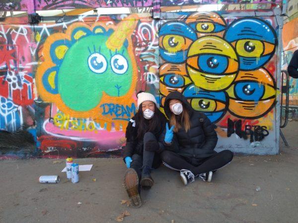Atelier initiation street art