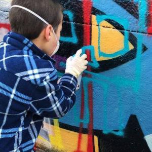 Atelier pédagogique street Art