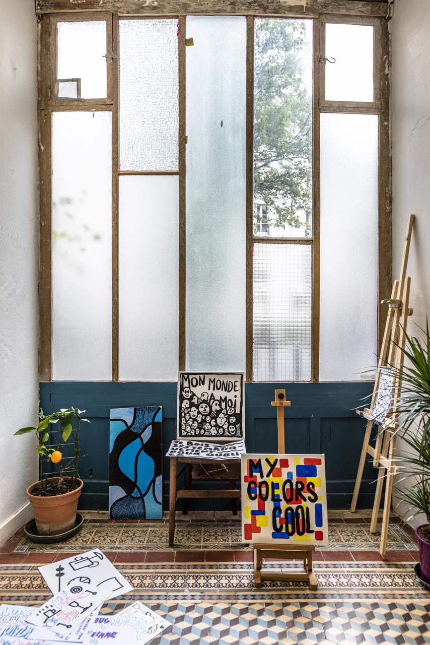 atelier street art graffiti paris création artiste ancien
