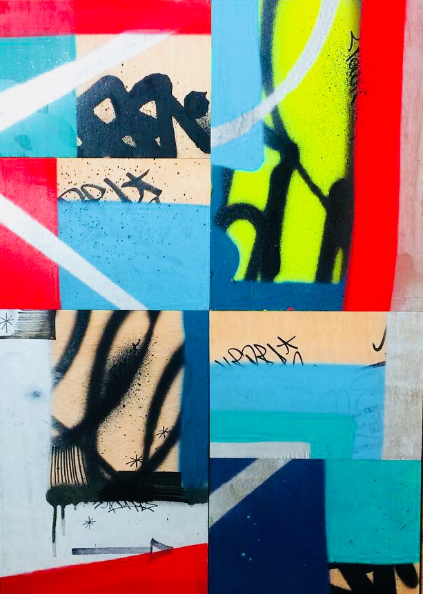 création originale street art graffiti paris