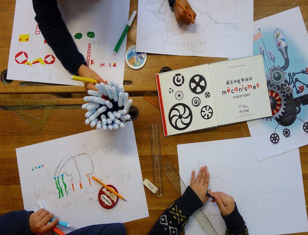Atelier enfants éducatif street art