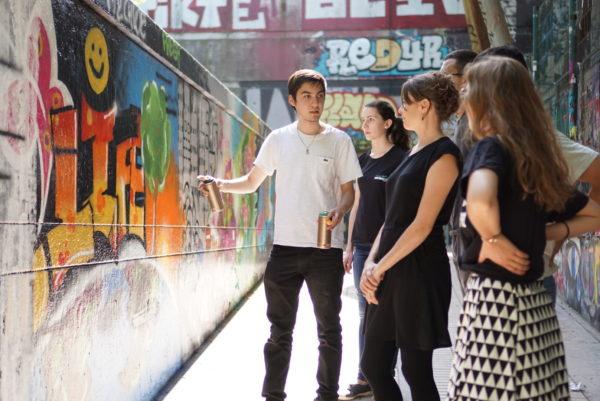 Atelier Street Art Graffiti Paris