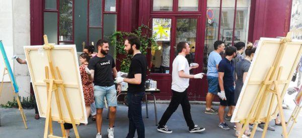 Experiences et créations Street Art Paris