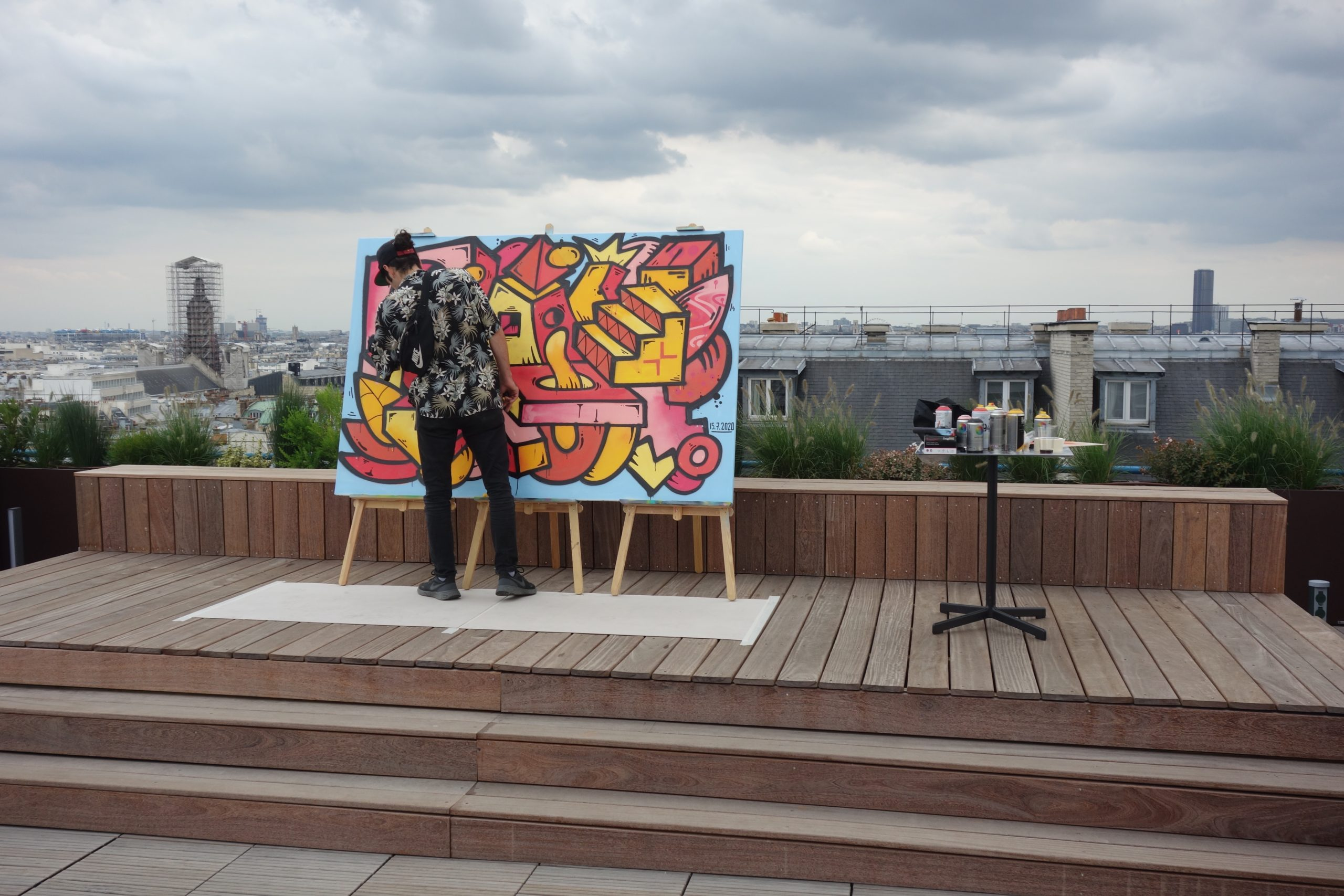 Live painting Jumping Pro